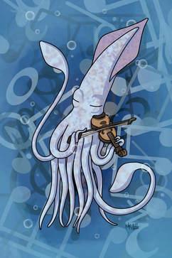 Squid Violinist