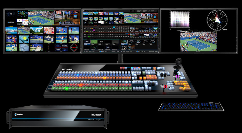 TRICASTER TC-1 4K Production Switcher