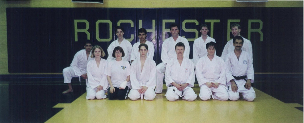Rochester U Wado karate club