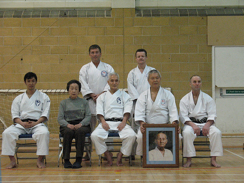 Winter Wado course in UK 2008