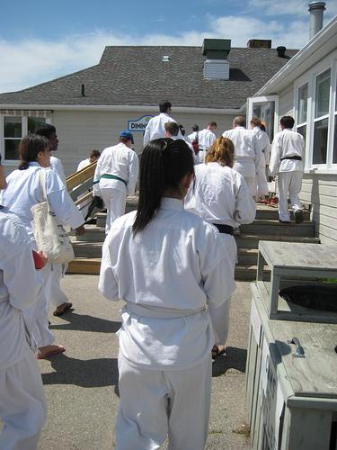 Karate camp 2009