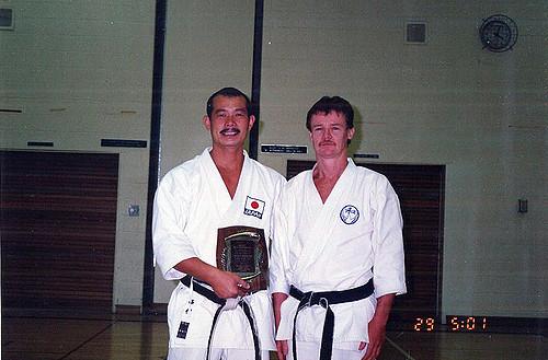 Nishimura Sensei and Waith Sensei