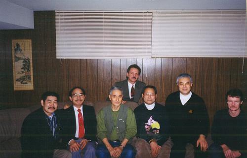 Trnto Karate instructors w Ohtsuka Sensei N Shiomitsu Sensei