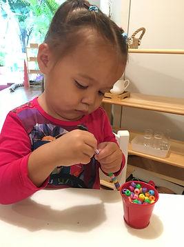 Sai Kung Montessori Student