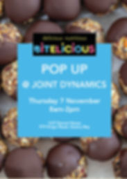 Pop up at Joint Dynamics