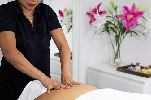 Shoulder Massage in The Day Spa