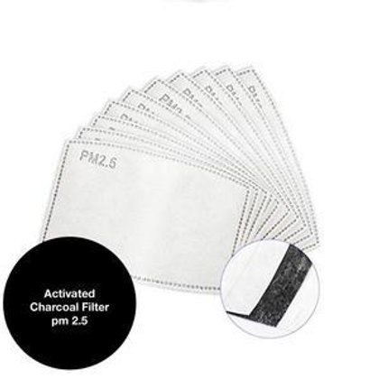 Charcoal Filters (Face Mask)