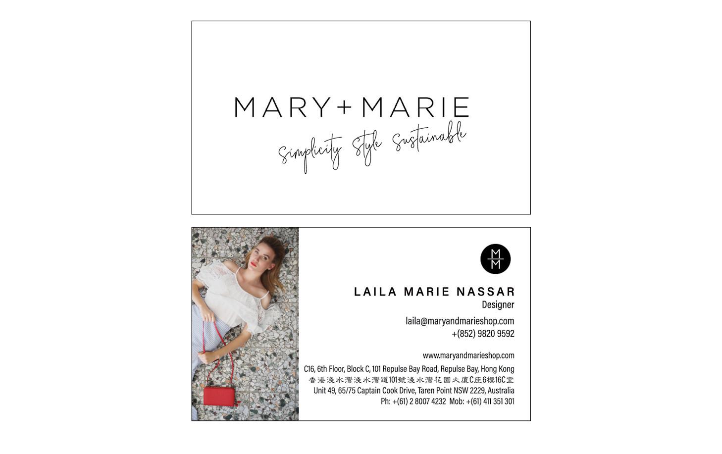 Mary & Marie