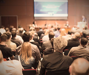 Real Estate Investment conference audience