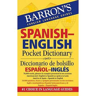 Barron's Spanish-English Pocket Bilingual Edition Dictionary