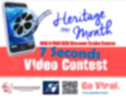 7secondsvideocontest heritage month dante