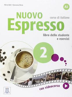 Nuovo Espresso: Libro studente + DVD-ROM 2 - INTERMEDIATE