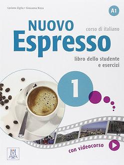 Nuovo Espresso: Libro studente + DVD-ROM 1 - BEGINNERS