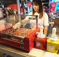 Hot Dog Live Station For Rent Singapore