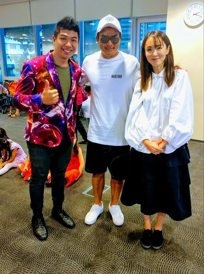 Magic Of Markson With Fann Wong & Christopher Lee