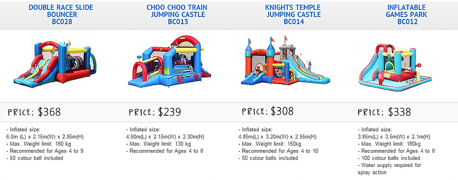 Cheapest Bouncy Castle Rentals In Singapore