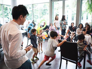 Interactive Games Hosting For Children's Birthday Parties