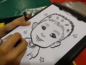 Singapore Caricature Service For Kids Birthday Parties In Singapore!