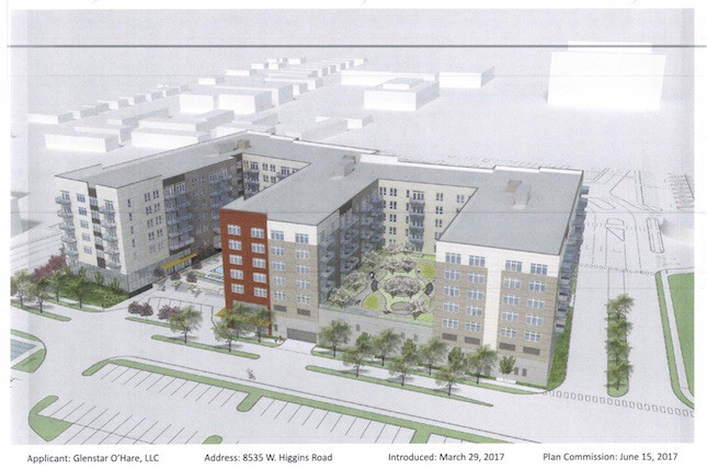 The City Council's zoning committee punted a third time Tuesday on a proposal to amend a Planned Development near the Cumberland Blue Line, holding in place the final regulatory barrier for construction of a 297-unit luxury apartment complex.