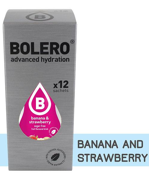 Bolero instant drank BANAAN EN AARDBEI