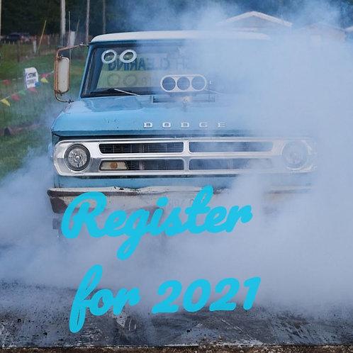 Pre Register for 2021