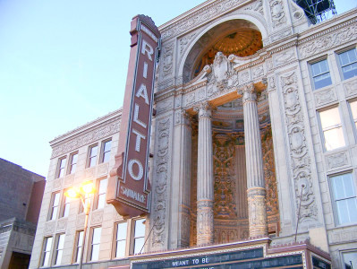 The Rialto Square Theatre (Handout)