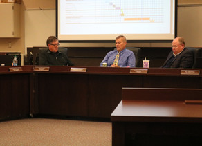 Plainfield school board discusses new school, mum on hazing probe