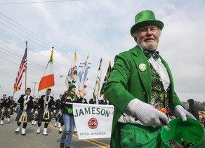 Irish fest parade takes over Manhattan