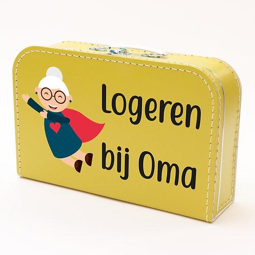 Koffertje met Logeren bij oma