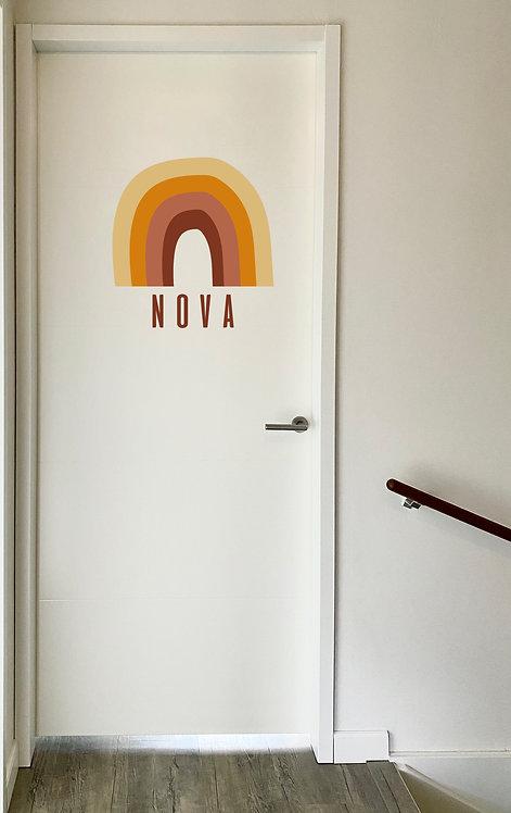Deursticker Nova