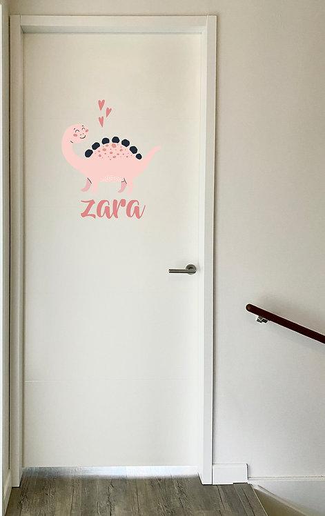 Deursticker Zara