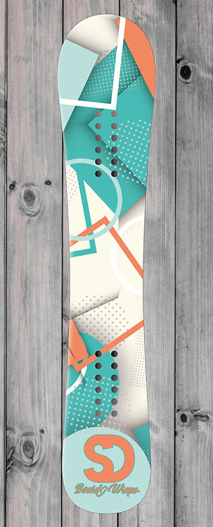 Shaper Snowboard wrap