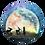 Thumbnail: Maan konijntjes Muurcirkel