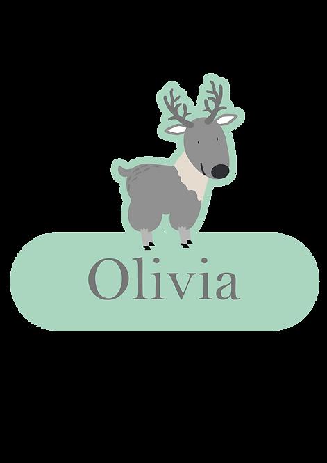 Olivia Naamsticker