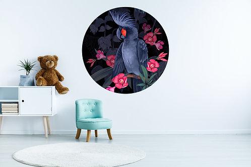 Zwarte Kaketoe Muurcirkel