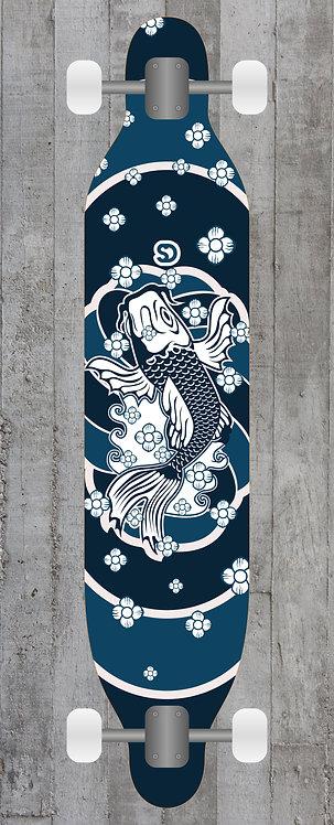 Koi Longboard wrap