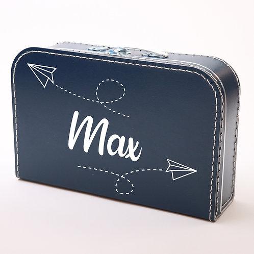 Koffertje met Vliegtuigjes