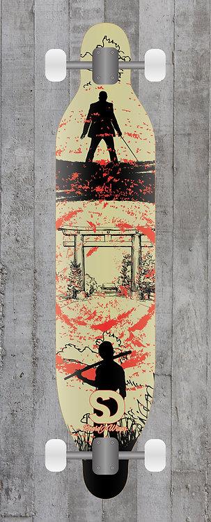 Yakuza Longboard wrap