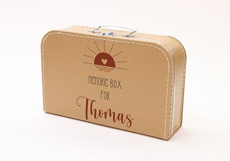 Koffertje met Memorybox Rood