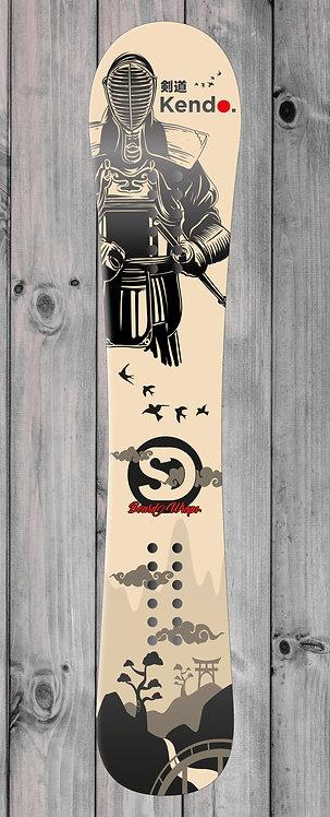 Kendo Snowboard wrap