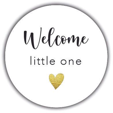 Welcome little one sluitzegel