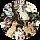 Thumbnail: Konijn en hertje Muurcirkel