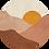 Thumbnail: Midnight Sun Ochtend Muurcirkel