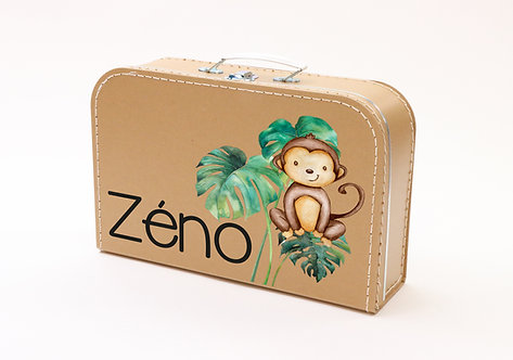 Koffertje met aapje