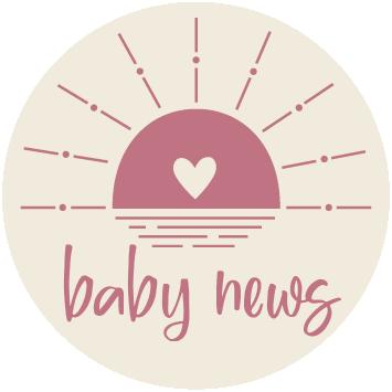 Baby news Roze sluitzegel