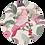 Thumbnail: Roze Kaketoe Muurcirkel