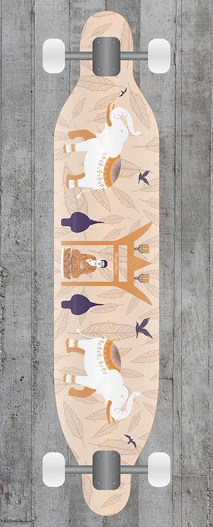 Monk Longboard wrap