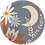 Thumbnail: Midnight Sun Avond Muurcirkel