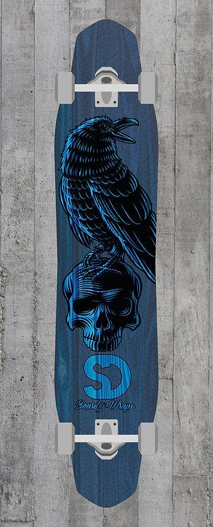 Blue Raven Longboard wrap