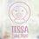 Thumbnail: Geboorte raamsticker Tessa